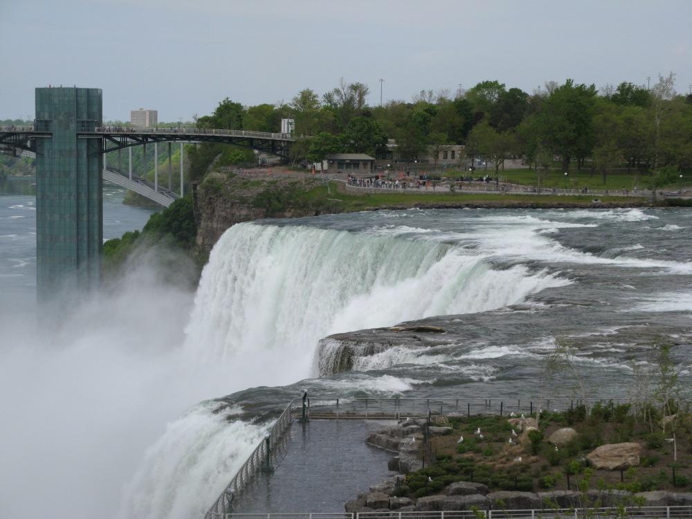 wodospady Niagara wcale nie zachwycają