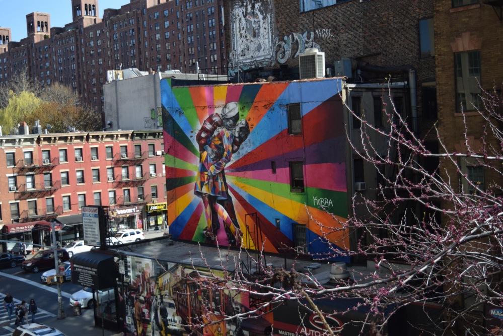 Mural w Chelsea w Nowym Jorku