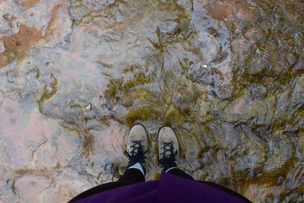 Buty trekkingowe w Parku Zion